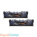 Модуль памяти DDR4 G.SKILL FLARE X (AMD) 16GB (2x8GB kit) 3200MHz CL16 1.35V / F4-3200C16D-16GFX / BLACK