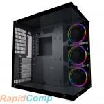 Корпус 1STPLAYER STEAM PUNK SP8 / ATX, tempered glass side panel, RGB fans controller & remote / 3x 120mm RGB fans inc. / SP8-G3