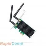 TP-Link Беспроводный двухдиапазонный PCI Express адаптер Archer T4E, 867Мбит/с + 300Мбит/с