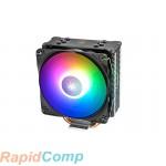 Кулер DEEPCOOL GAMMAXX GT A-RGB LGA20XX / 1366 / 115X / AM4 / AM3 / + / AM2 / + / FM2 / + / FM1 (20шт / кор, TDP 180Вт, PWM, ARGB Fan 120mm, 4 тепл. трубки прямого контакта) RET