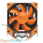 Кулер PCCooler S88 S775 / 115X / AM2 / AM3 / AM4 / FM1 / FM2 (48 шт / кор, TDP 98W, вент-р 80мм с PWM, 2 тепловые трубки 6мм, 1200-2000RPM, 20.5dBa) Retail Color Box