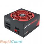 Блок питания Chieftec CHIEFTRONIC PowerPlay GPU-750FC (ATX 2.3, 750W, 80 PLUS GOLD, Active PFC, 140mm fan, Full Cable Management, LLC design, Japanese capacitors) Retail