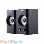 Акустическая система 2.0 SVEN SPS-605 / 6 Watt / ~220V 50Hz / Black