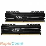 ADATA 16GB ADATA DDR4 3200 DIMM XPG GAMMIX D10 Black Gaming Memory AX4U32008G16A-DB10 Non-ECC