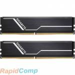 Gigabyte 16GB Gigabyte DDR4 2666 DIMM Black Gaming Memory GP-GR26C16S8K2HU416 Non-ECC
