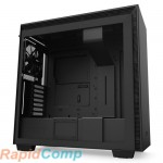 NZXT H710  CA-H710B-B1 Mid Tower Black/Black Chassis with 3x120